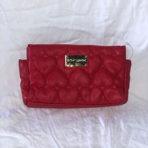 Red Betsy Johnson Pouch